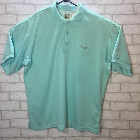 2f3bfce7988 Columbia Shirts | Mens Medium Pfg Polo Vented Back | Poshmark